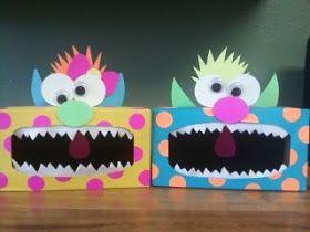 Tissue Box Monsters