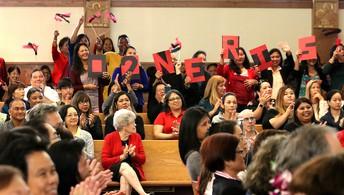 SPELC's Nerissa Ramos Supporters