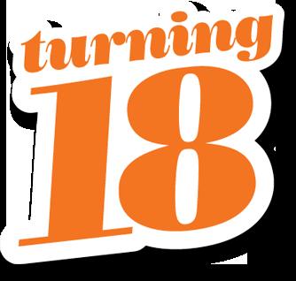 ¿Cumples 18? ¡Feliz Cumpleaños!
