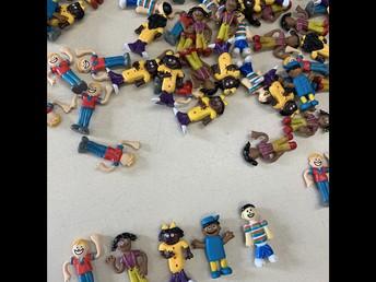Love the diversity shown in these kindergarten manipulatives