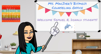 A Note from the Counselor - Ms. Mac Iver