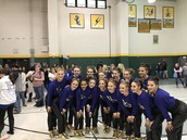 Varsity Golden Girls Compete At Lindbergh Competition