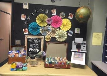 Yummy Snack Table and Luncheons Every Day!