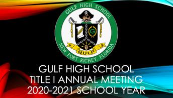 GHS Title I Annual Presentation