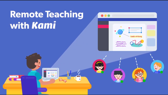 Remote Teaching with Kami & Canvas