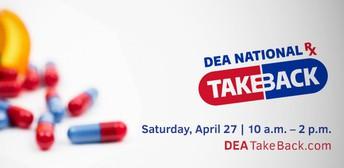 UPCOMING! Drug Take Back Day