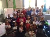 Second Graders Are Thankful!