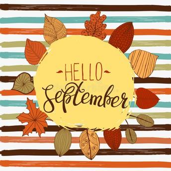 September Calendar Events