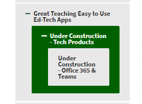 COMING SOON! GREAT TEACHING EASY TO USE ED-TECH APPS