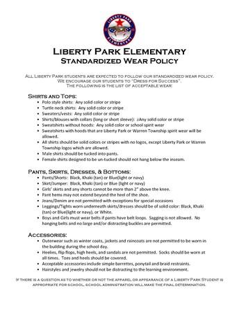 LP Dress Guidelines