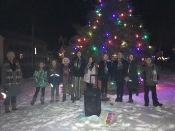 The Town of Bridgewater Annual Christmas Tree Lighting