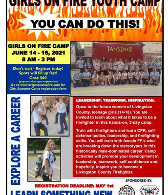 Girls on Fire Youth Camp