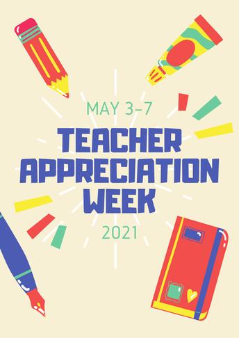 Teacher Appreciation Week is Next Week!