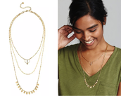 Terra Layering Necklace - Gold
