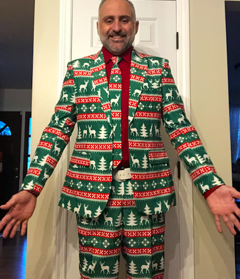 Rocking the Holiday Suit