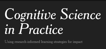 Be part of a research study into teachers' use of Cognitive Science learning strategies