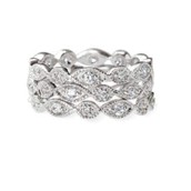 Stackable Deco Rings- $49