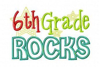 Sixth Grade ROCKS!