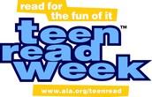 Teen Read Week!   October 8-14th!