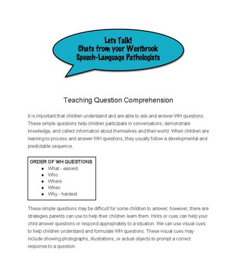 Speech Pathologists Article