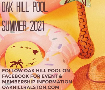 Join Oak Hill Pool for summer 2021 fun!