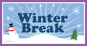 Winter Break Begins at the end of the school day on Friday, December 20th.  Students return to school on Thursday, January 2nd.
