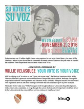 KLRU, Center for Mexican American Studies and the UT-LULAC chapter to screen Willie Velasquez