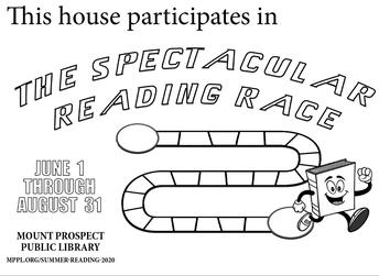 MPPL Reading Race Sheet