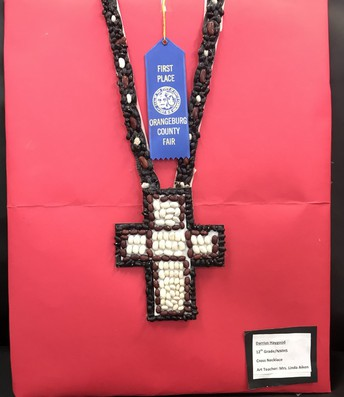 Darrius Haygood- 1st Place Youth Crafts