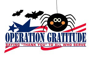 Operation Gratitude!  George School families donated over 70 pounds of candy to our troops!