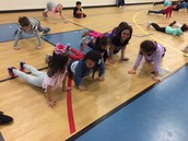 Dance Day in PE.
