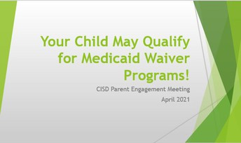 Your Child May Qualify for Medicaid Waiver Programs
