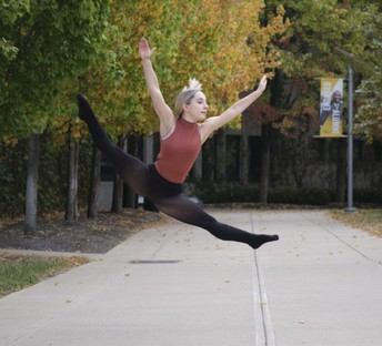 Dance student stays busy despite pandemic