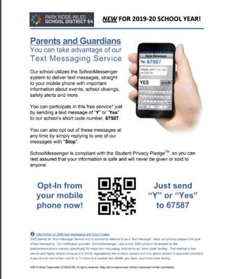 D64 Text Messaging Service