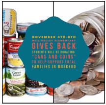 """Mill Valley gives back - """"Cans & Coins"""""""
