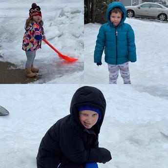 My three kids Henry, Theodore & Lucy