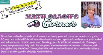 K-2 Math Chat with Donna Boucher