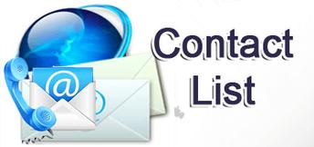 PLA Contact List