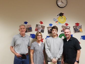 UHS student recognized with Jonathan Hintz Scholarship