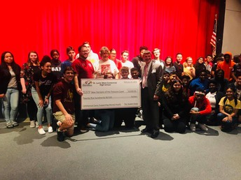 Saint Lucie West Centennial High School Students Raised Money for New Horizons