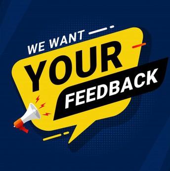 Seeking Your Feedback!
