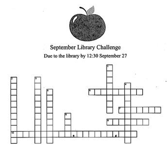 September Library Challenge