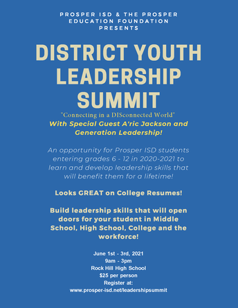 District Youth Leadership Summit