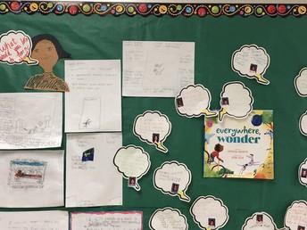 Wonder Wall from Second Grade