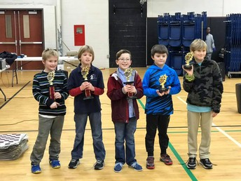 3rd Grade Division Winners