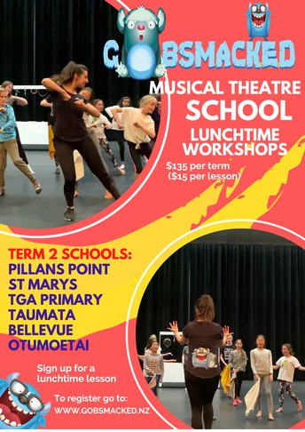 Musical Theatre Tuesday Lunchtime Registration