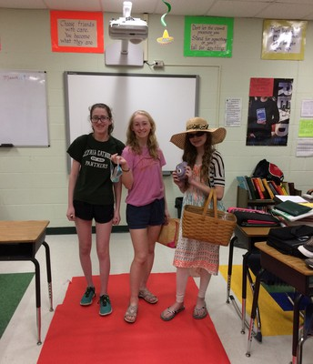 8th grade Spanish Fashion Show