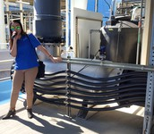 MEA Students tour a water facility