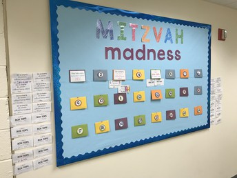 Look how many of us are meeting the Mitzvah Madness Challenge!