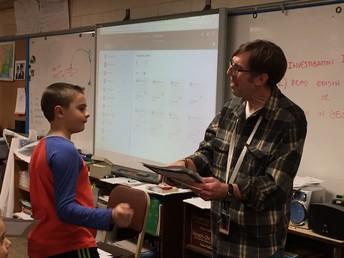 Congratulations, Mr. Roessler!